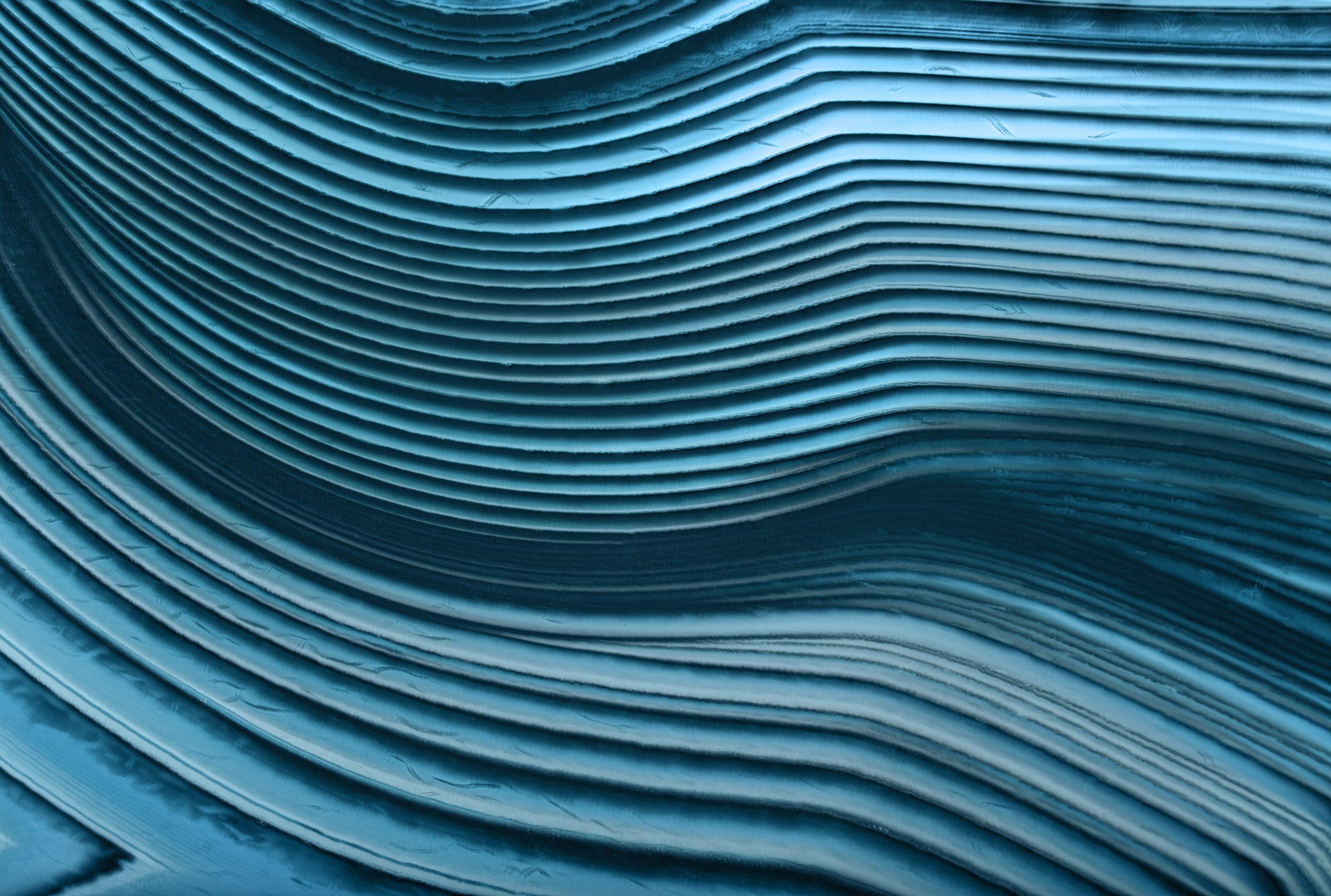 cyan agate lines macro texture